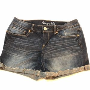 Aeropostale | Cut off rolled hem denim shorts